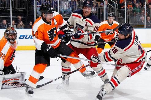 НХЛ. Нью-Йорк — Филадельфия, поражения Вашингтона и Питтсбурга