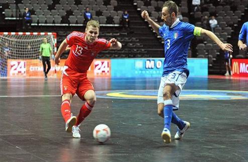 Футзал. Евро 2012. Россия смогла сдержать Италию