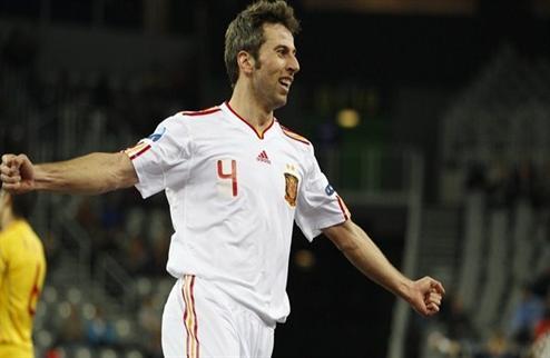 Футзал. Евро 2012. Испания с трудностями, но переигрывает Румынию