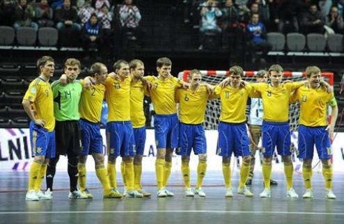 Сборная Украины по футзалу чуть не разбилась в Хорватии