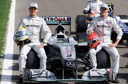 Формула-1. Шумахер доминирует в Хересе