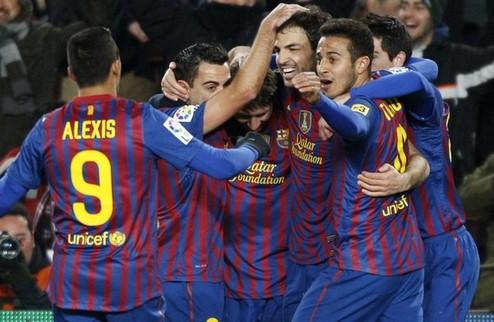 Барселона — в финале Кубка Испании + ВИДЕО