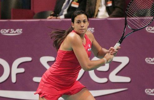 Париж (WTA). Бартоли присоединилась к четвертьфиналисткам
