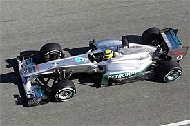 Формула-1. Росберг хвалит покрышки Пирелли