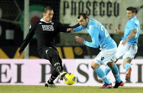 Наполи нажил проблемы в Кубке Италии + ВИДЕО