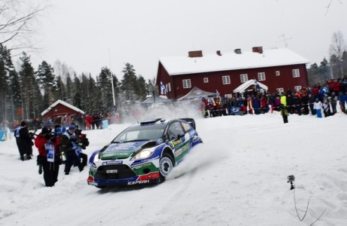 WRC. Ралли Швеции. Успех Латвалы, неудача Леба