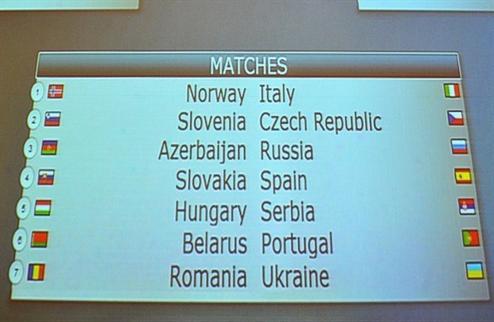 Футзал. ЧМ 2012. Украине в жеребьевке досталась Румыния