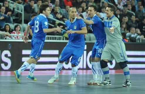 Футзал. Евро 2012. Италия выигрывает бронзу