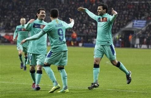 Барселона — почти в четвертьфинале Лиги чемпионов + ВИДЕО
