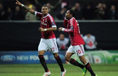 Милан уничтожает Арсенал + ВИДЕО