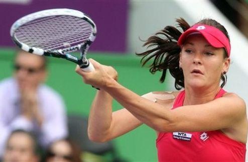 Доха (WTA). Радваньска и Азаренко вышли в четвертьфинал