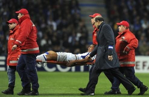 Защитник Порту вылетел до конца сезона