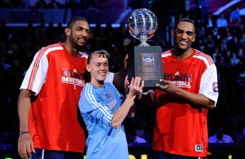НБА. Shooting Stars: Атланта, Нью-Йорк, Орландо и Техас