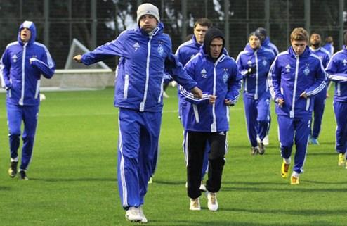 Шевченко вернулся в общую группу