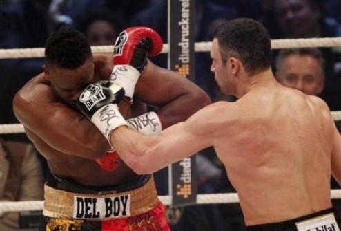 Виталий Кличко защитил пояс WBC