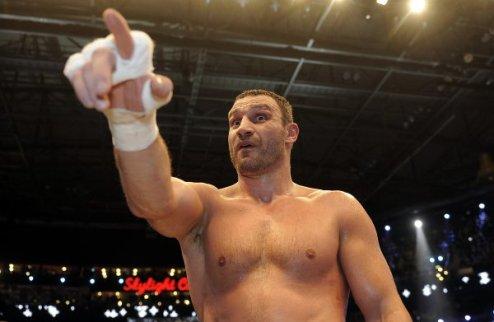 Виталий Кличко нанес меньше ударов, чем обычно