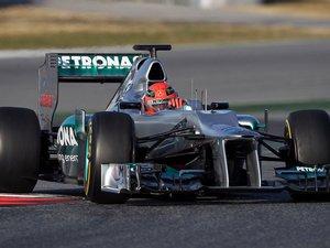 Формула-1. Шумахера переполняют положительные эмоции