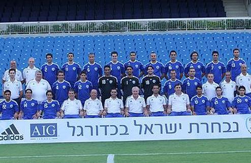 Израиль огласил состав на матч с Украиной