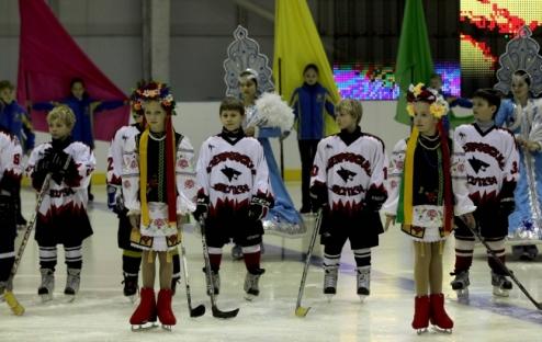 Новая ледовая арена Днепропетровска открыта