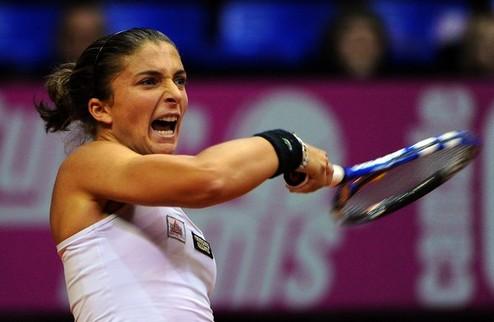Монтеррей (WTA). Уверенные победы Арн и Эррани