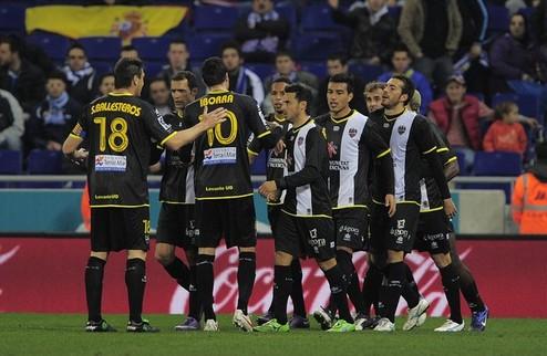 Леванте возвращается в зону Лиги чемпионов