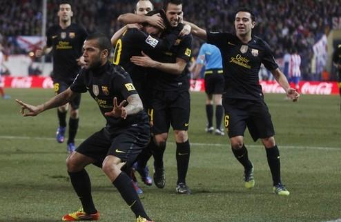 Барселона: трудная победа в Мадриде + ВИДЕО