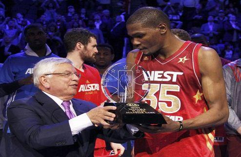 """НБА. Дюрант: """"Не думал, что стану MVP All Star Game"""""""