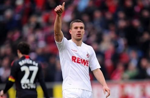СМИ: Подольски согласовал личный контракт с Арсеналом