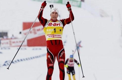 Биатлон. ЧМ. Норвегия — чемпион смешанной эстафеты!