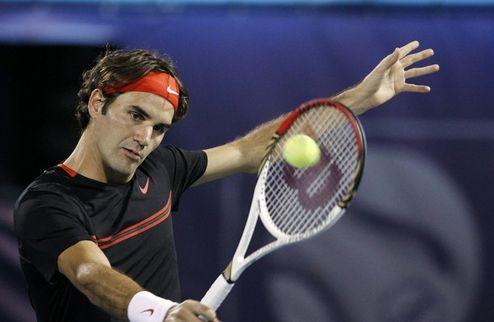 Федерер поборется за пятый титул в Дубаи