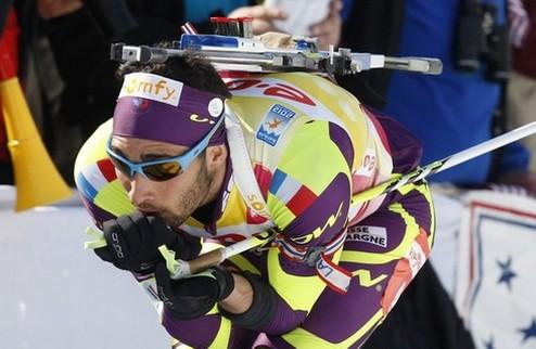 Биатлон. Мартен Фуркад — чемпион мира в спринте!