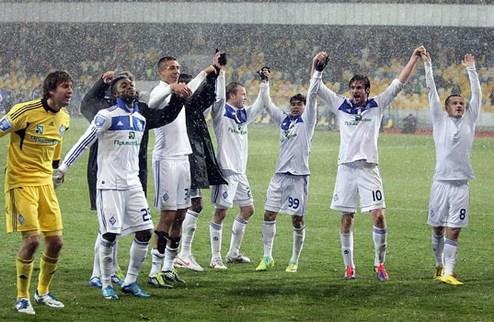 Динамо минимально побеждает в киевском дерби