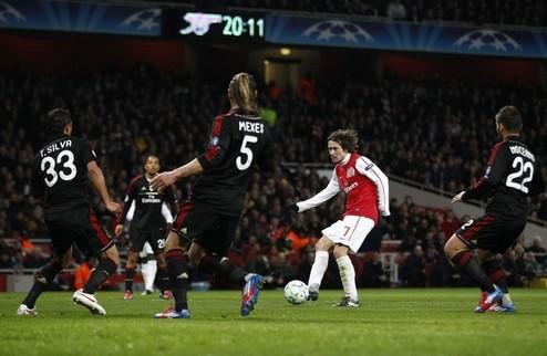 Арсенал едва не совершает чудо + ВИДЕО
