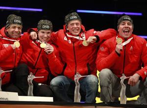 """Биатлон. Свендсен: """"Счастлив завоевать золото для Норвегии"""""""