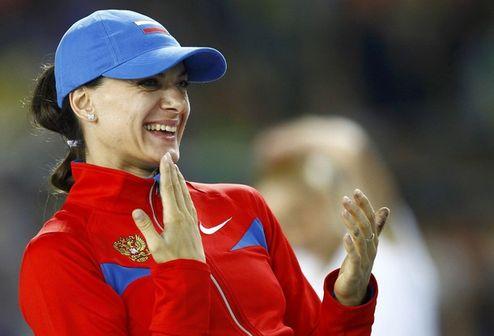 """Легкая атлетика. Исинбаева: """"Я никого не опасалась"""""""