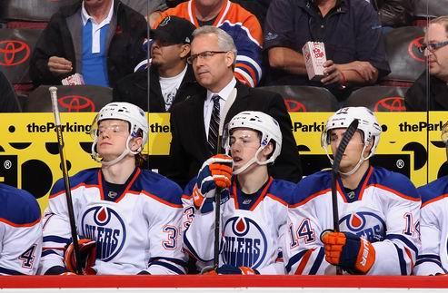 НХЛ. Тренер Эдмонтона раскритиковал свою команду