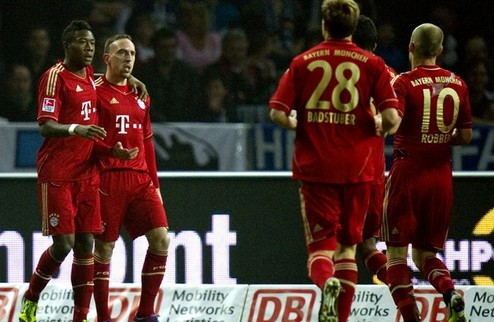 Бавария не наиграла на семь голов + ВИДЕО