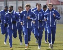 Динамо: подготовка к Ильичевцу в разгаре