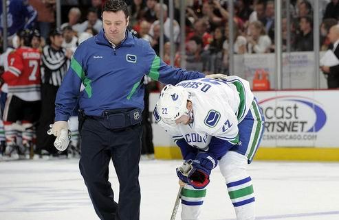 НХЛ. Ванкувер: Даниэль Седин должен пропустить около двух недель