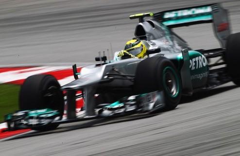 Формула-1. Гран-при Малайзии. Росберг опережает Ред Булл