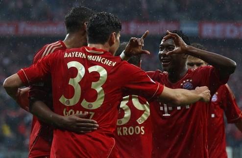 Бавария приближается к Дортмунду, Шальке обходит Гладбах + ВИДЕО