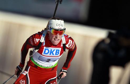 Биатлон. Бергер феерит на чемпионате Норвегии
