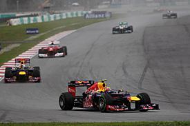 Формула-1. Уэббер Гран-при Малайзии доволен