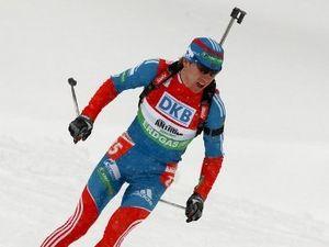 Биатлон. Волков выиграл гонку преследования на ЧР