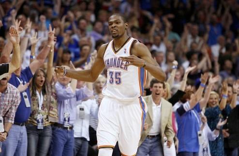 НБА. Дюрант и Джонсон — игроки недели в НБА