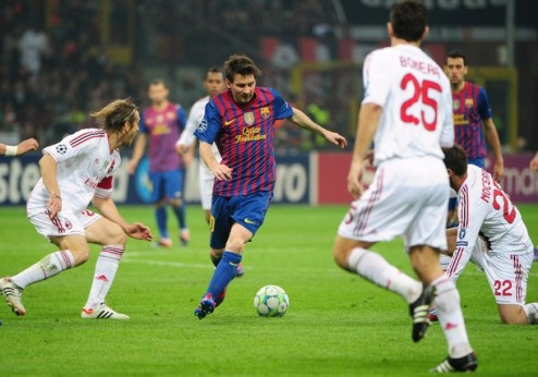 Милан удержал Барселону + ВИДЕО