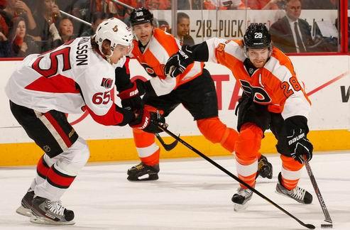 НХЛ. Битва Филадельфии и Оттавы, победа Бостона