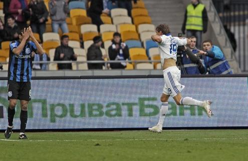 Динамо уверенно справилось с Черноморцем