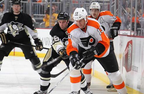 НХЛ. Тренер Филадельфии недоволен действиями Питтсбурга
