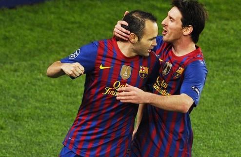 Барселона проходит Милан + ВИДЕО